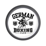 German Boxing Wall Clock