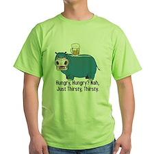 Thirsty, Thirsty Hippo T-Shirt