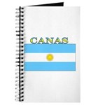 Canas Argentina Flag Journal