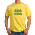 Canas Argentina Flag Yellow T-Shirt