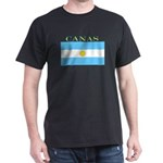 Canas Argentina Flag Dark T-Shirt
