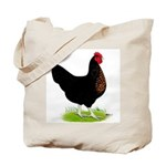 Black Sex-link Hen Tote Bag