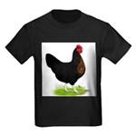 Black Sex-link Hen Kids Dark T-Shirt