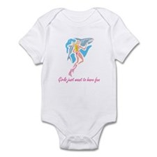 Girls want to have fun Infant Bodysuit