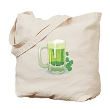 Green Beer Tote Bag