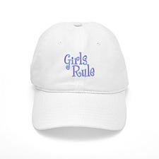 Girls Rule Baseball Cap