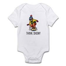 Think Snow Snowboarding Infant Bodysuit