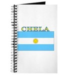 Chela Argentina Flag Journal