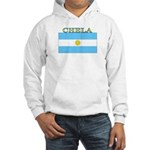 Chela Argentina Flag Hooded Sweatshirt