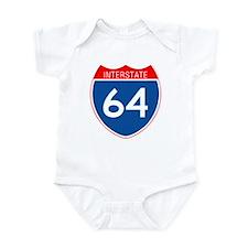 Interstate 64 Infant Bodysuit