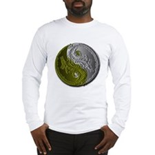 Dragons Yin-Yang Long Sleeve T-Shirt