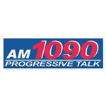 AM1090 Bumper Sticker