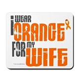 I Wear Orange For My Wife 6 Mousepad