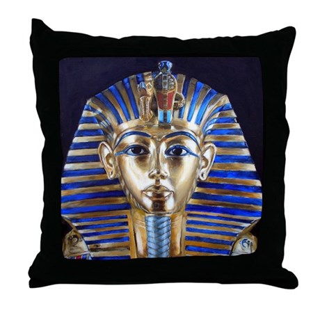 Tutankhamun Throw Pillow