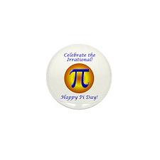 Pi Day Mini Button