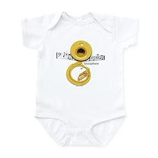 Sousaphone Music Infant Bodysuit