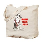 NH Pin Trading Pup Tote Bag