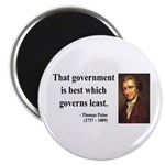"Thomas Paine 1 2.25"" Magnet (100 pack)"