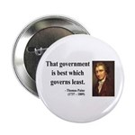 "Thomas Paine 1 2.25"" Button (100 pack)"
