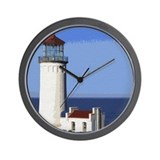 Cool Lighthouse painting Wall Clock