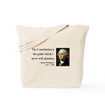George Washington 4 Tote Bag