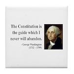 George Washington 4 Tile Coaster