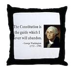 George Washington 4 Throw Pillow