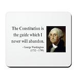 George Washington 4 Mousepad