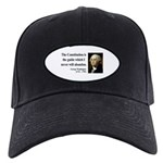 George Washington 4 Black Cap