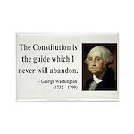 George Washington 4 Rectangle Magnet (100 pack)