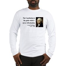 George Washington 4 Long Sleeve T-Shirt
