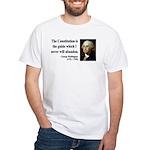 George Washington 4 White T-Shirt