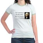 George Washington 4 Jr. Ringer T-Shirt