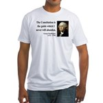 George Washington 4 Fitted T-Shirt