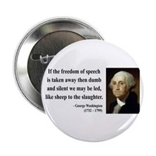 "George Washington 3 2.25"" Button (100 pack)"