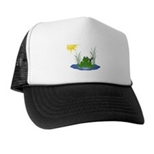 Lilly's Pad Trucker Hat