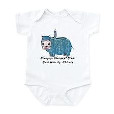 Thirsty, Thirsty Hippo Infant Bodysuit