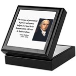 James Madison 9 Keepsake Box