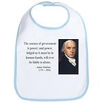 James Madison 9 Bib