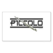 Piccolo Rectangle Decal