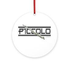 Piccolo Ornament (Round)