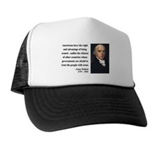 James Madison 6 Trucker Hat
