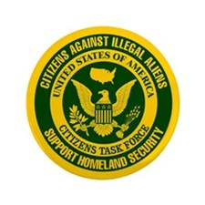 "Citizens Against Illegal Aliens 3.5"" Button (100 p"