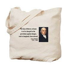 James Madison 3 Tote Bag