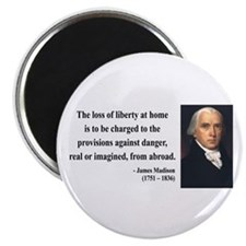 James Madison 3 Magnet