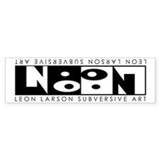 Leon Inversion Bumper Bumper Sticker