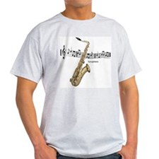 Saxaphone Music T-Shirt