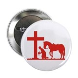 "COWBOY PRAYER 2.25"" Button (10 pack)"