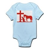 COWBOY PRAYER Infant Creeper