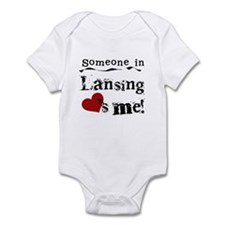 Lansing Loves Me Infant Bodysuit